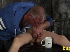 Tractable Gay Chap Relaxes And Enjoys A Rough Fetish Act