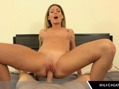 Big Juicy Tits Milf Loves To Ride His Hard Cock