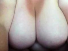 Trailertrash-ish BBW with heavy boobs on webcam 1