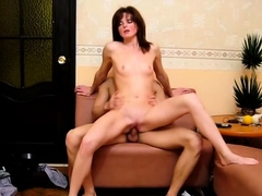 Fang riding scene with a mischievous russian babe Sue
