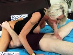 Naughty America - Emma Starr needs someone to creampie her