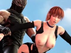 DoA Anime Naked Characters Gets Big Massive Dick
