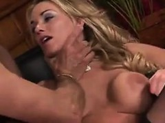 Blonde Bitch Anal Fucked